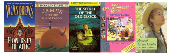 Top 10 Tuesday Childhood Books I'd Like to Revisit